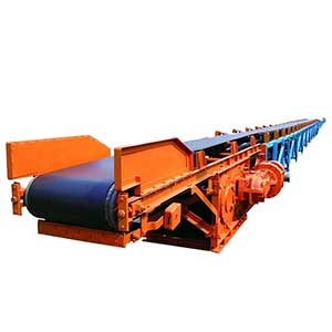 Belt conveyor for cement plants.