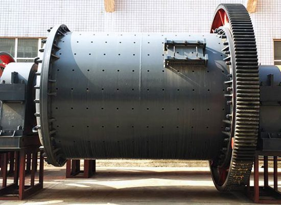 Cement ball mill for cement grinding.