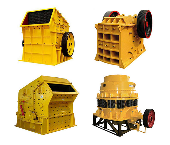 Crushers used in large cement plants.