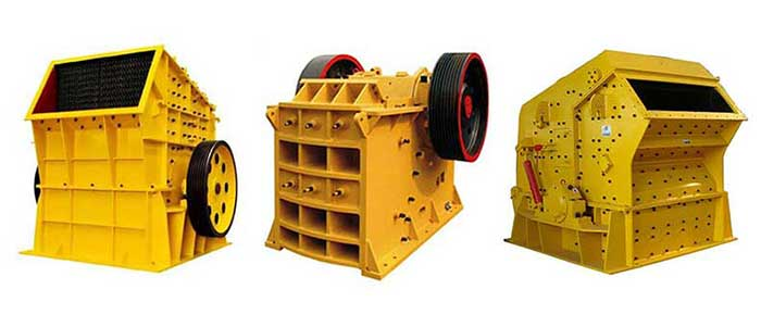 Cement crushers used in mini cement plants.