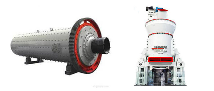 Grinding machines for cement plants.