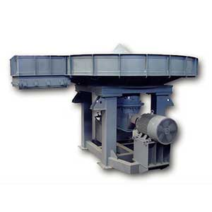 Cement plant disc feeder