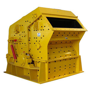 Impact crusher for cement plants.