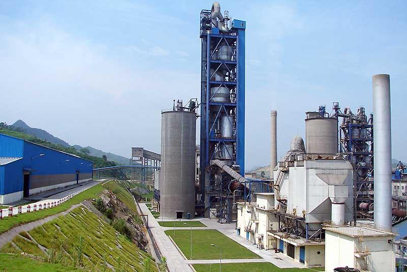 the portland pozzolana manufacturing cement plant