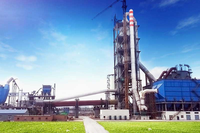 Quick setting cement production line