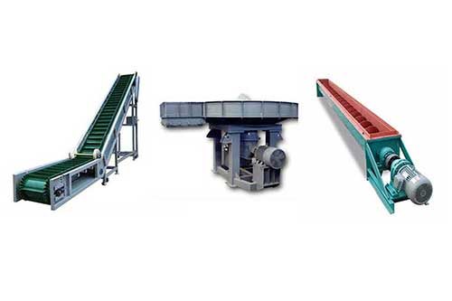 cement plant conveying system
