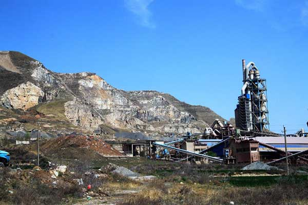 The site of a cement factory is better near the limestone mine.