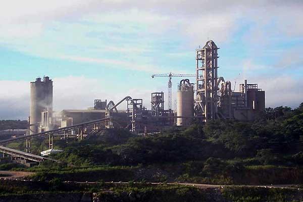 2000t/d Brazil Ciplan Cement Plant