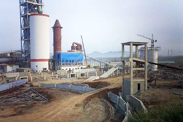 5000t/d Dalian Yongsheng Cement Plant