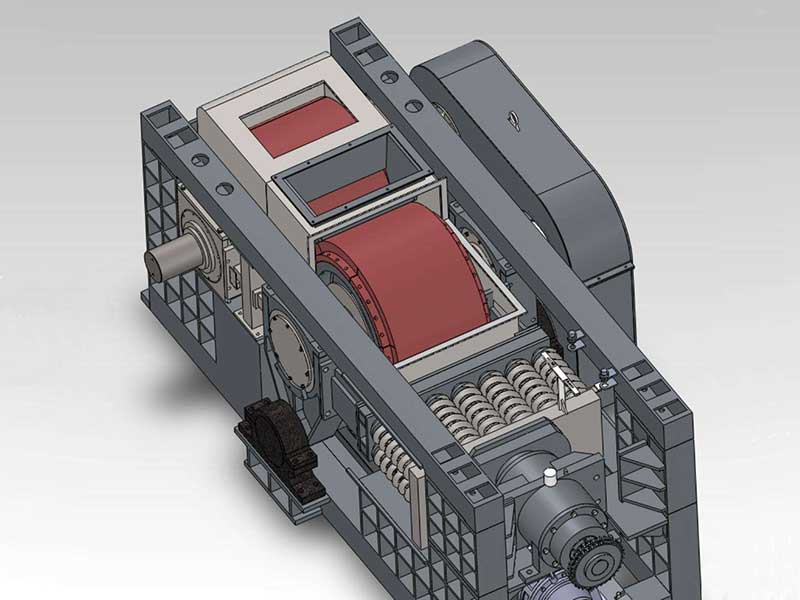 Cement roller press design drawing