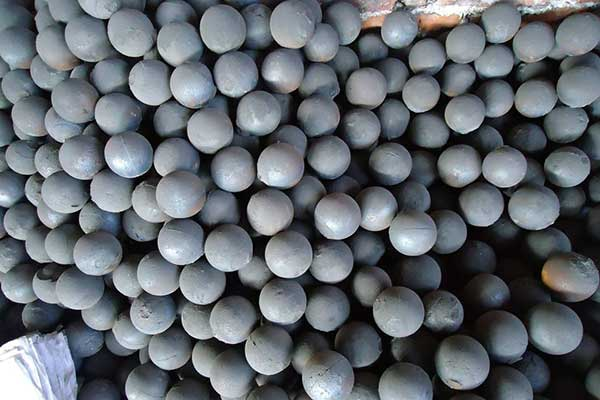 Steel balls for ball mill