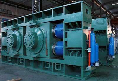 Hydraulic Cement Roller Press