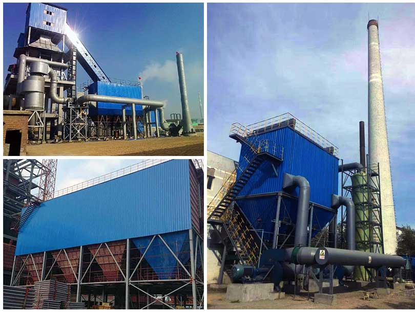 AGICO electrostactic precipitators in cement plants and coal mill plants.