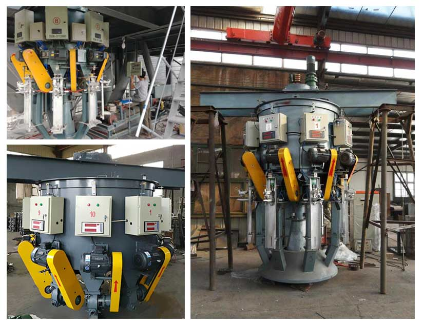 AGICO roto-packer cement packing machines