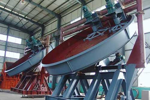 disc pelletizer machine / pan granulator for cement production